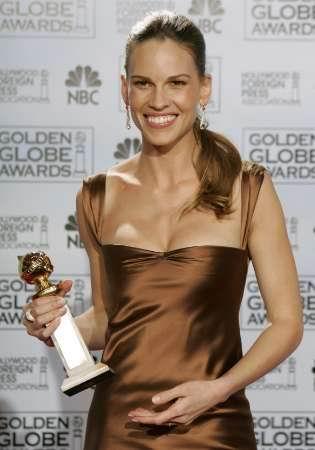 图:奥斯卡最佳女主角提名希拉里-斯旺克
