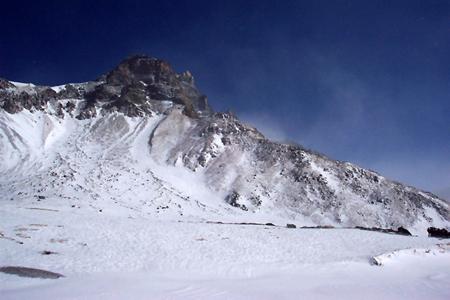 组图:长白山风雪奇观