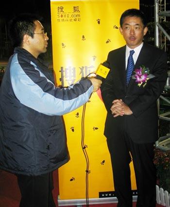 搜狐独家专访了广州本田总经理峰川尚