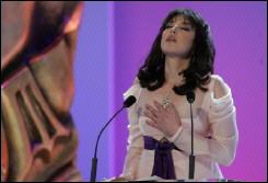 伊莎贝尔-阿佳妮凯撒典礼发表政治演说(图)