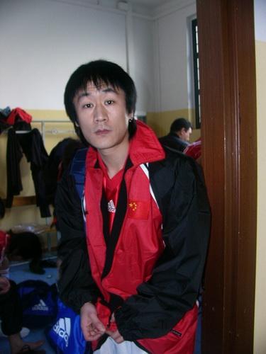 图文:中国明星足球队米兰比赛-常宽