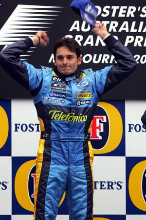 F1澳大利亚大奖赛结束 费斯切拉获得揭幕战冠军