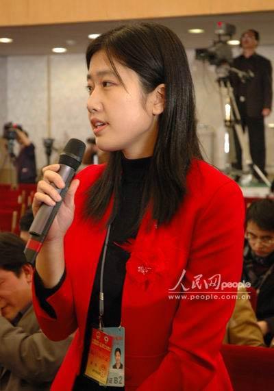 新华社记者提问(图)