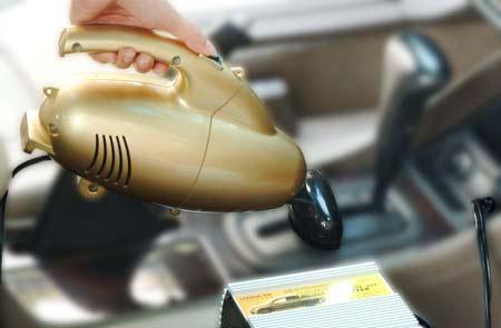 吸尘器也能辅助车内办公 汽车吸尘器面世