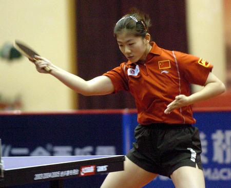 4 乒乓球――世乒赛选拔赛决出四项冠亚军
