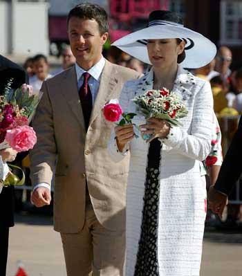 丹麦王妃玛丽唐纳森_我也来8一8丹麦的大王妃玛丽唐纳森(丹麦未来的王后); 我也来8一8丹麦