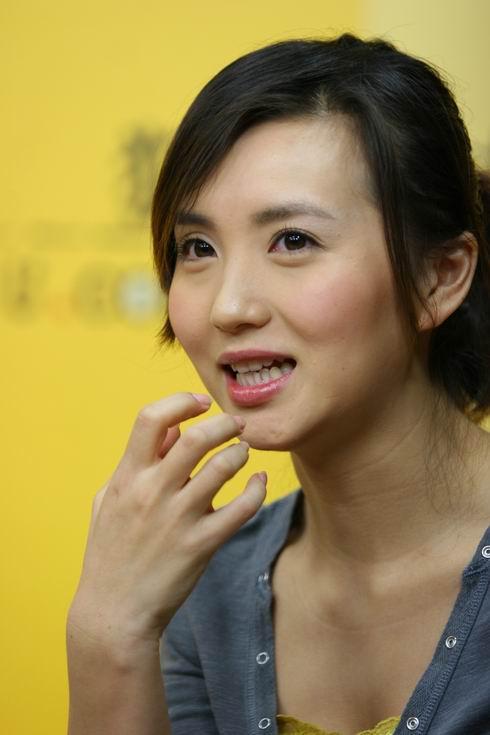 陈好做客搜狐:不会选择胡兵做男朋友(视频)