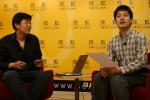 图文:常昊做客搜狐聊天 与主持人现场交流