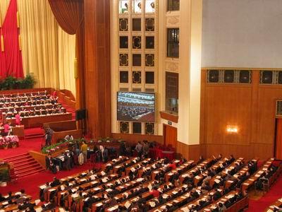 组图:政协十届三次会议第二次大会发言