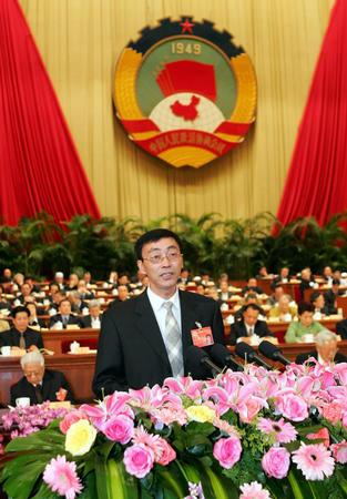 王旭东在全国政协第三次全体会议上发言(图)