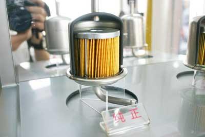 燃油滤清器结构图
