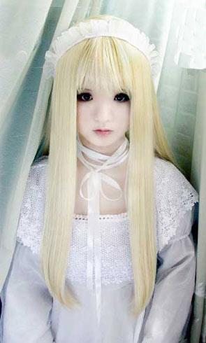 组图:她是真人吗?还是洋娃娃?
