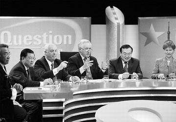 "BBC举办中国时政辩论 英国观众观后直呼""兴奋"""