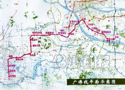 青岛胶州机场轻轨线路图