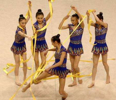 2 全国艺术体操集体锦标赛赛况