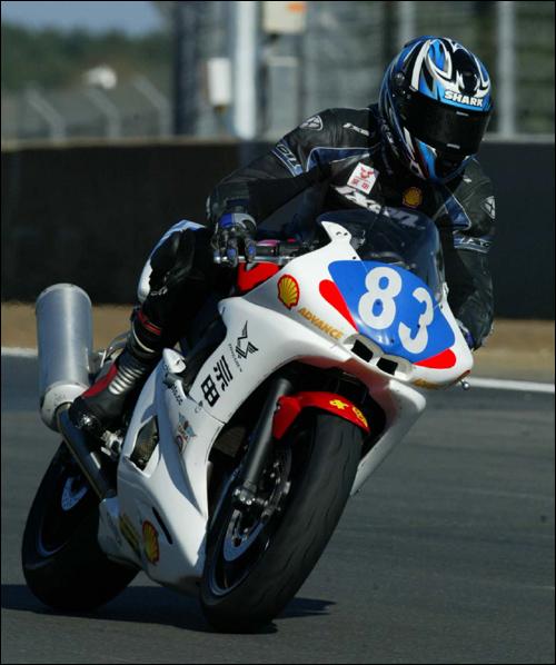[赛车]中国车手参加法国摩托车锦标赛