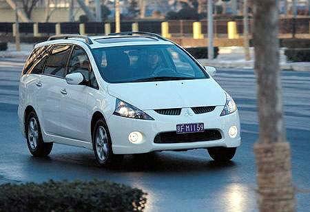 未来派--试驾三菱格兰迪grandis mpv-搜狐汽车