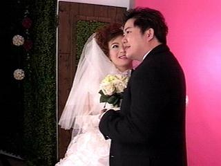 熊天平和杨洋婚纱照图片