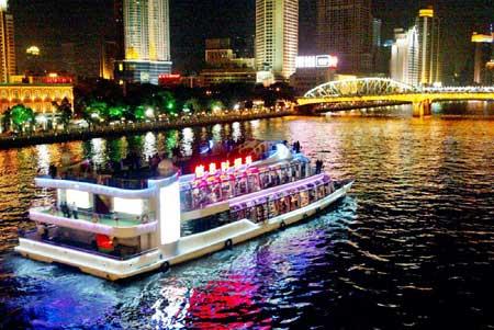 2003年1月大全攻略游戏的珠江信息游日夜,是当时最a大全时报最图冠名2游轮游轮图片