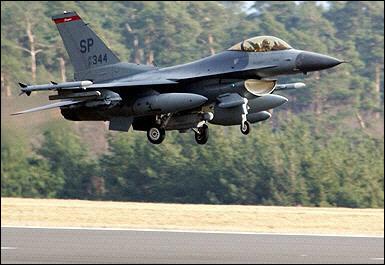 美宣布向巴基斯坦出售f-16战斗机 印度失望(图)