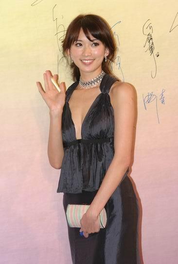 图文:第24届香港金像奖--林志玲