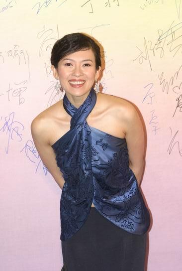 图文:第24届香港金像奖--章子怡
