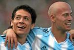 图文:阿根廷2-1玻利维亚 菲格罗亚加莱蒂祝贺
