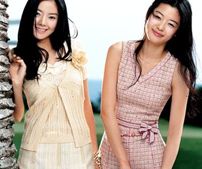 时尚:学生妹到职场OL美丽变身