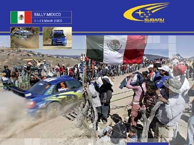 斯巴鲁再报佳绩 WRC墨西哥分站赛称霸(图)