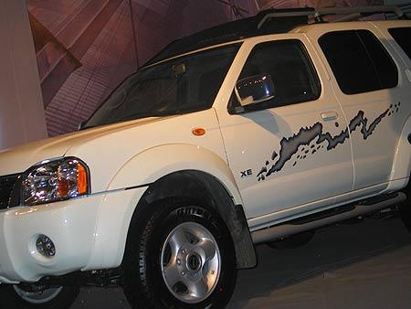 功到自然成--郑州日产将推出欧3款帕拉丁量产车