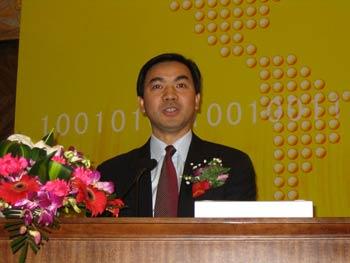 图文:NEC通信中国有限公司常务副总裁鲁敢