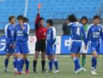 图文:北京4-0申花 孙吉被红牌罚下