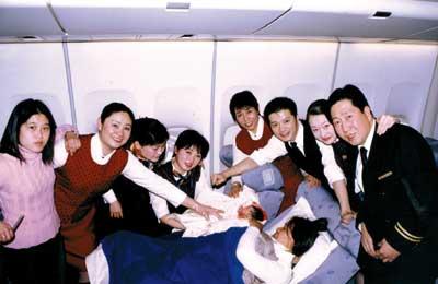国航孕妇乘坐飞机优待