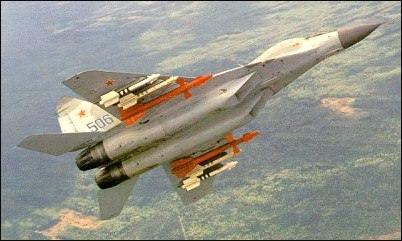 图为米格-29飞机(1)(图片来自人民网)