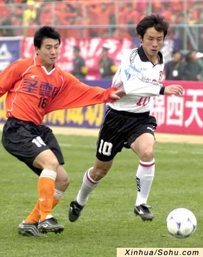 4月13日,在2002年全国足球甲b联赛第四轮的比赛中,辽宁葫芦岛宏运队
