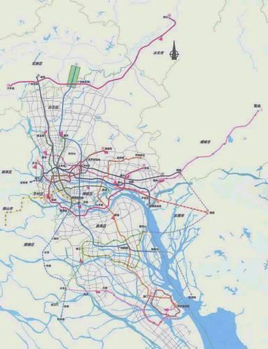广州市城市发展结构将由都会区组团和次区域