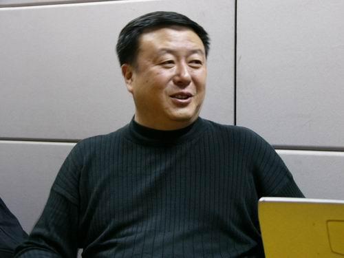 图文:11月13日著名导演尤小刚做客搜狐-37