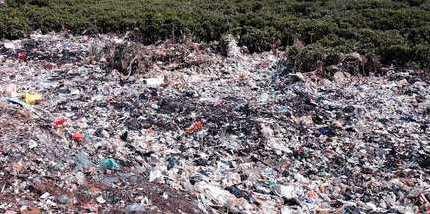 组图:中国中小城镇生活垃圾污染环境触目惊心