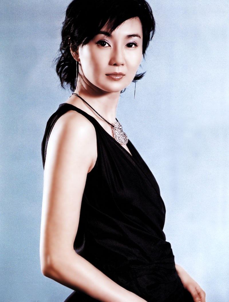 香港著名明星张曼玉写真 1