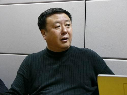 图文:11月13日著名导演尤小刚做客搜狐-26