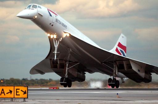 协和超音速飞机今日完成最后航程(组图)