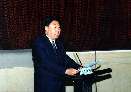 田凤山在一个国有资源论坛上发言