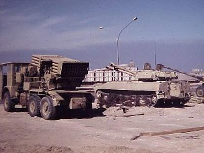 新闻 军事频道 烽火岁月 图片专题:第一次海湾战争-科威特城被收复 历