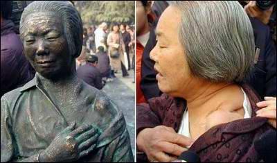 南京大屠杀幸存者倪翠萍老人参加了该仪式