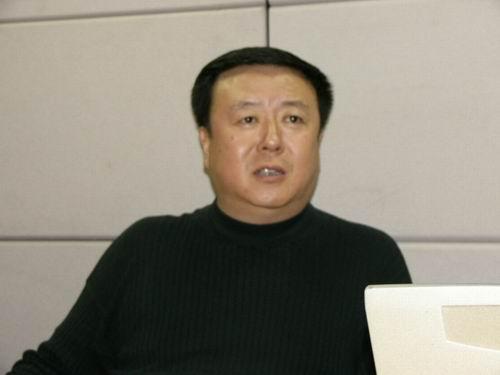 图文:11月13日著名导演尤小刚做客搜狐-14
