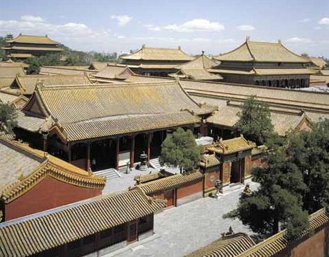 像大部分中国古建筑一样
