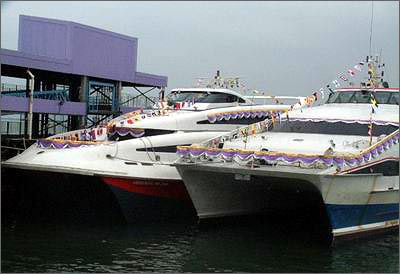 香港机场海天客运码头启用[图]