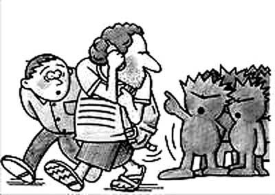 小孩吃饭简笔画-你没有叫人脱衣权力 谁能给中国人 十条告诫