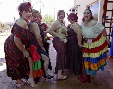 南非肥女选美大赛