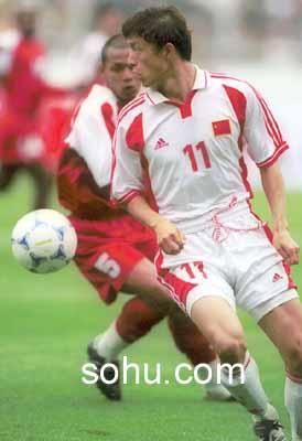 2002年世界杯亚洲区第9小组预选赛,中国队客场2:0击败印度尼西亚